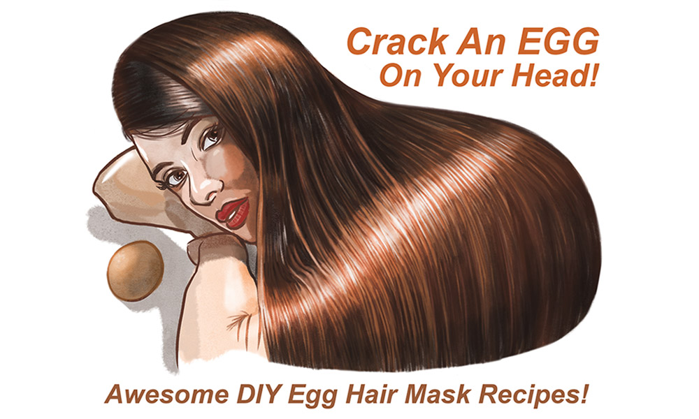 Crack an Egg…on Your Head!? (awesome DIY egg hair mask recipes)